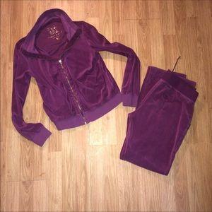 Victoria Secret Lush And Plush Track Suit size M